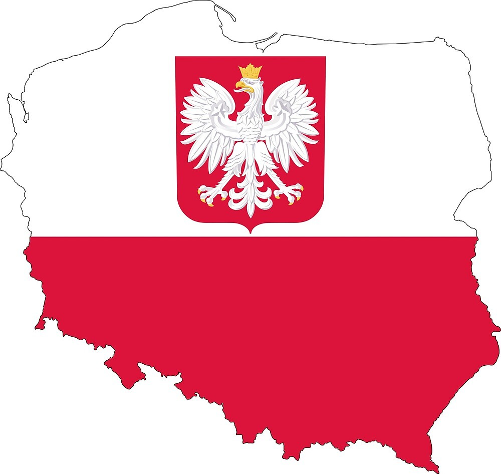 Poland Continent Flag by PRODUCTPICS