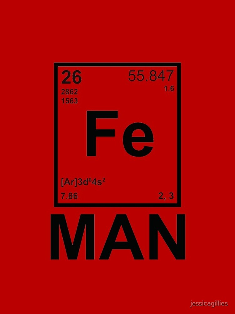 Fe (Eisen) Mann von jessicagillies