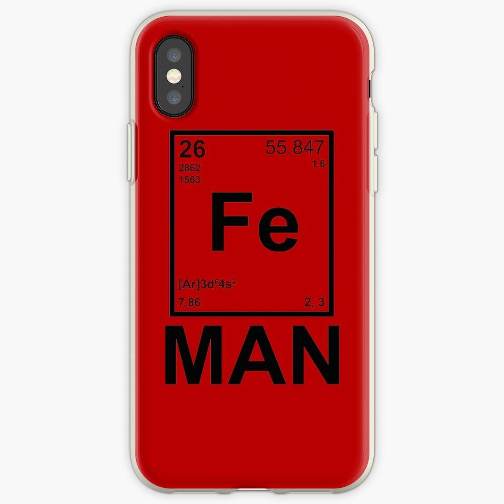 Fe (Eisen) Mann iPhone-Hüllen & Cover