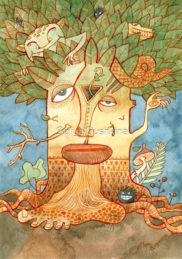 Weird tree by Sofya Dushkina