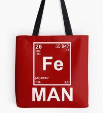 Fe (Iron) Man Tote Bag