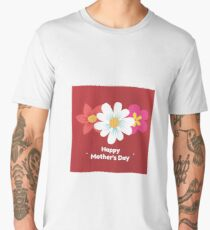 Art Happy Mother's Day Men's Premium T-Shirt