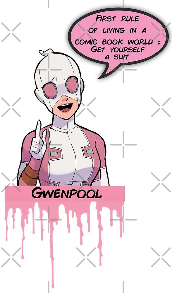 gwenpool: first rule - dripping pink by obsedian-dream