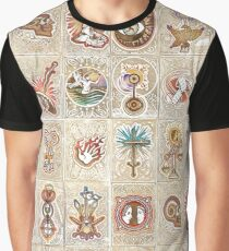 Elder Scrolls: Oblivion Skills Graphic T-Shirt