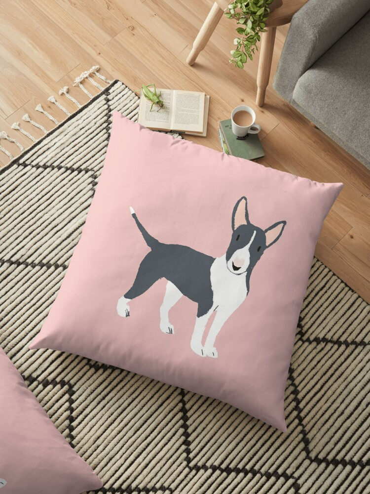 Bull terrier gray by PineLemon