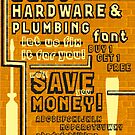 Dan'shardware Typeface Sample Page by chung-deh tien