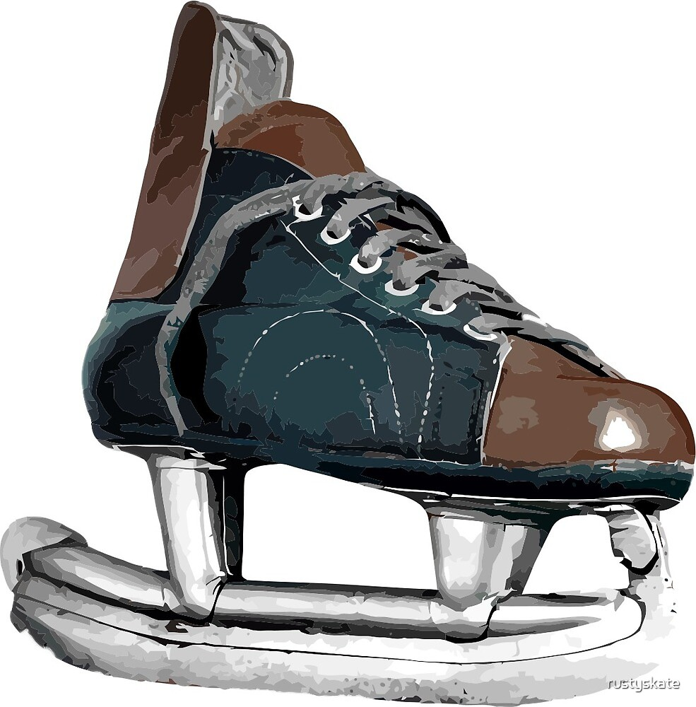 Vintage  Hockey Skate  by rustyskate