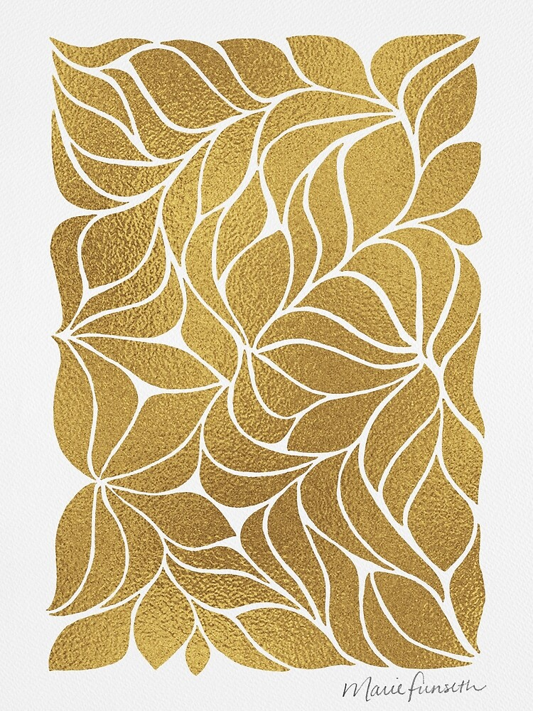 It's a Jungle Out There - Gold by Marie Funseth