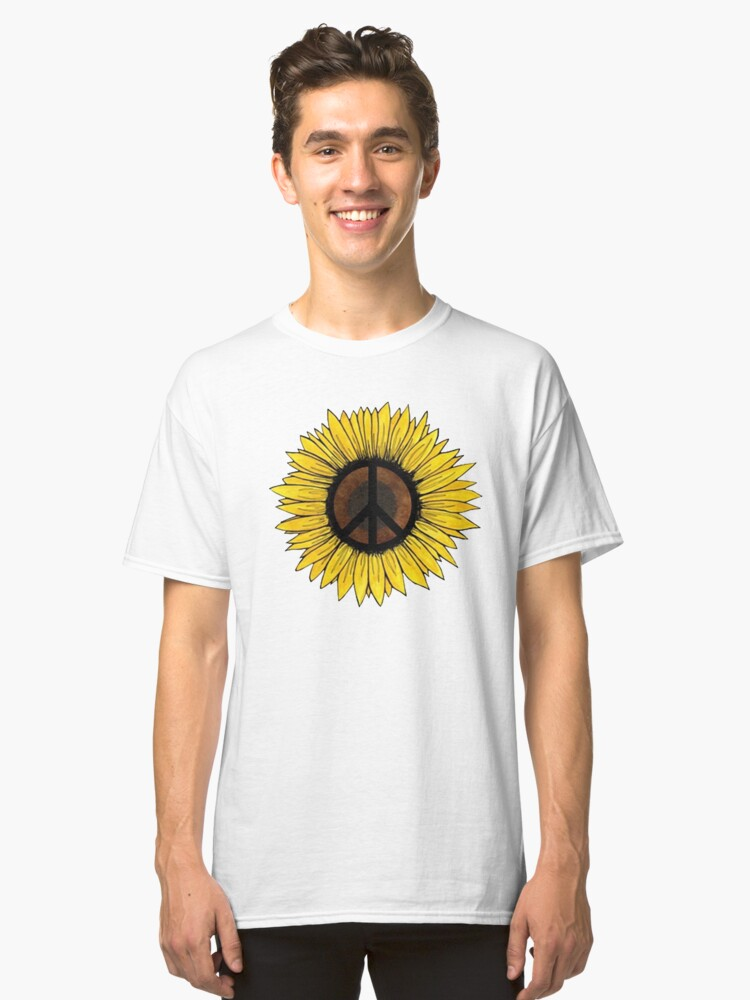 Sunflowers Classic T-Shirt Front