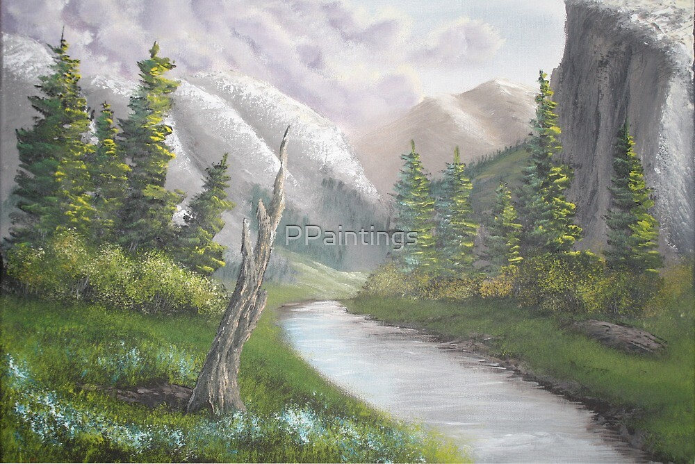 Valley Meadow by PPaintings