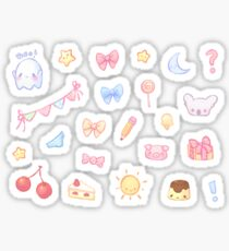 Pastel Set 1 Sticker