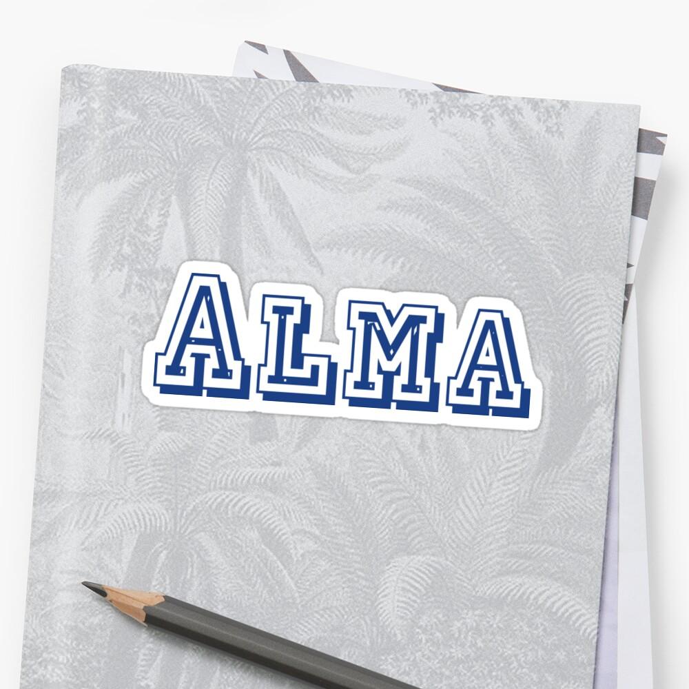 Alma Sticker by CreativeTs
