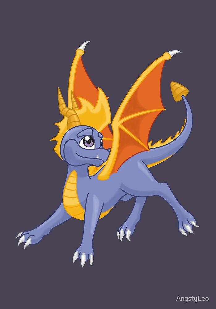 Dragon, my childhood friend by AngstyLeo