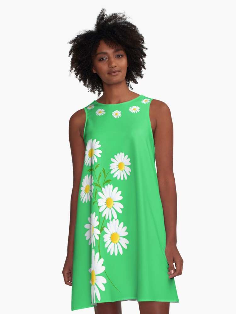 Daisy's  A-Line Dress Front