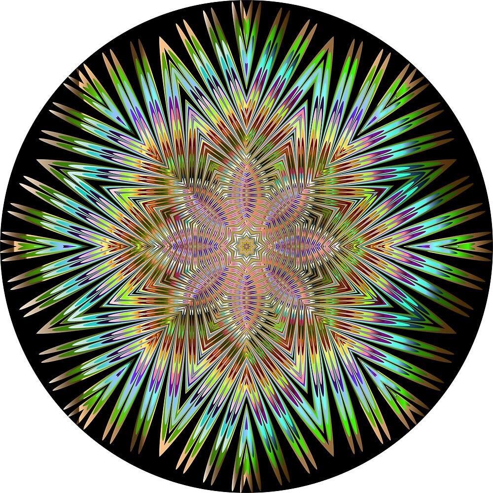 Funky Mandala  by tommygunnn123