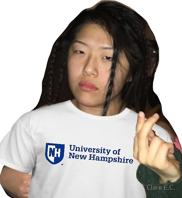 lil becky is going to unh by Clare Coyne