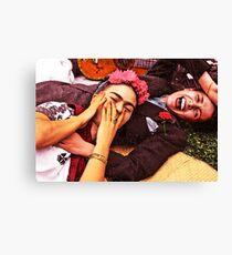 Frida y Chavela Canvas Print