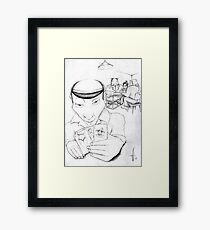 The Raw Deal Framed Print
