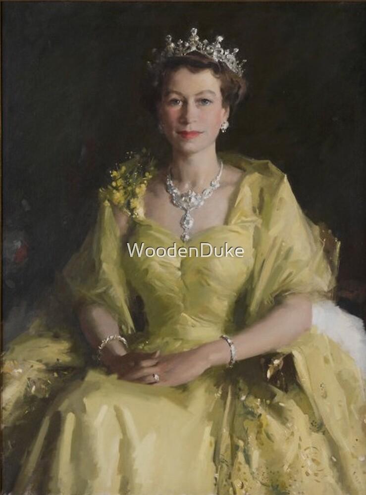 Australian Wattle Queen by WoodenDuke