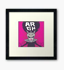 argh Framed Print