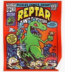 Reptar König der Monster Poster