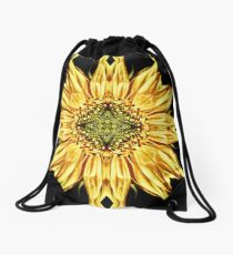 Sunflower Manipulation Drawstring Bag