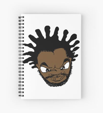 Jeru the Damaja replica D. Original Sun Rises Cartoon Replica promo print Spiral Notebook