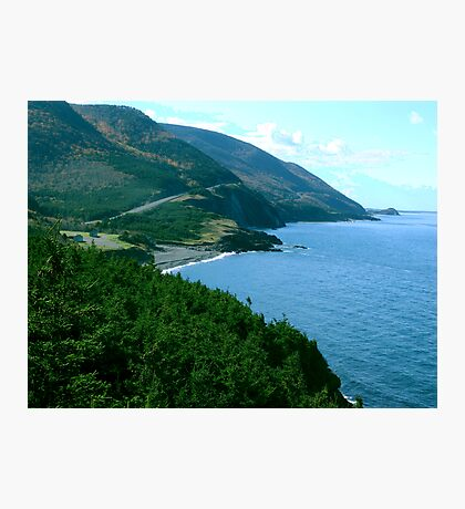 Cap Rouge, Cape Breton Island Photographic Print