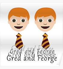 Gred and Feorge Poster