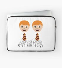 Gred and Feorge Laptop Sleeve