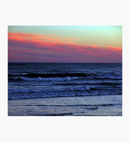Red Sky At Night.. Photographic Print