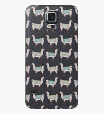 Llamas in Lines Case/Skin for Samsung Galaxy