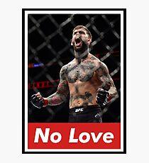 Cody 'No Love' Garbrandt Photographic Print