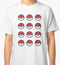 Pokeball Pattern Classic T-Shirt