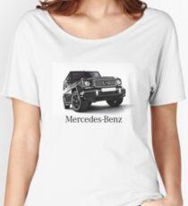 Mercedes Benz T shirt - Gelandewagen Women's Relaxed Fit T-Shirt