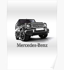 Mercedes Benz T shirt - Gelandewagen Poster