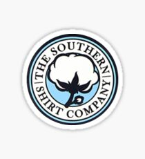 The Southern Shirt Co. Sticker — Blue Sticker