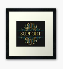 SUPPORTS Framed Print