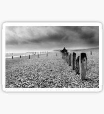 On Winchelsea Beach Sticker