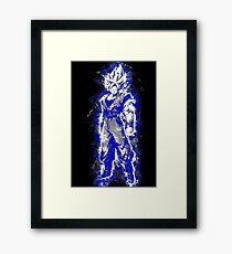 Aura Warrior BLUE Framed Print