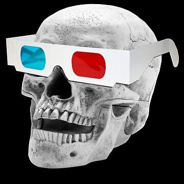3D Skull by chriswig