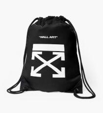 Off White Drawstring Bag