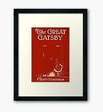 Great gatsby Framed Print