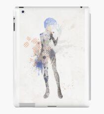 Rei Ayanami Neon Genesis  Evangelion Art Print iPad Case/Skin