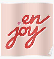 en • joy Poster