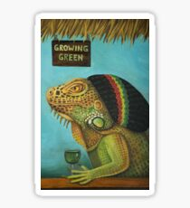 Get Medicated Iguana Detail Sticker