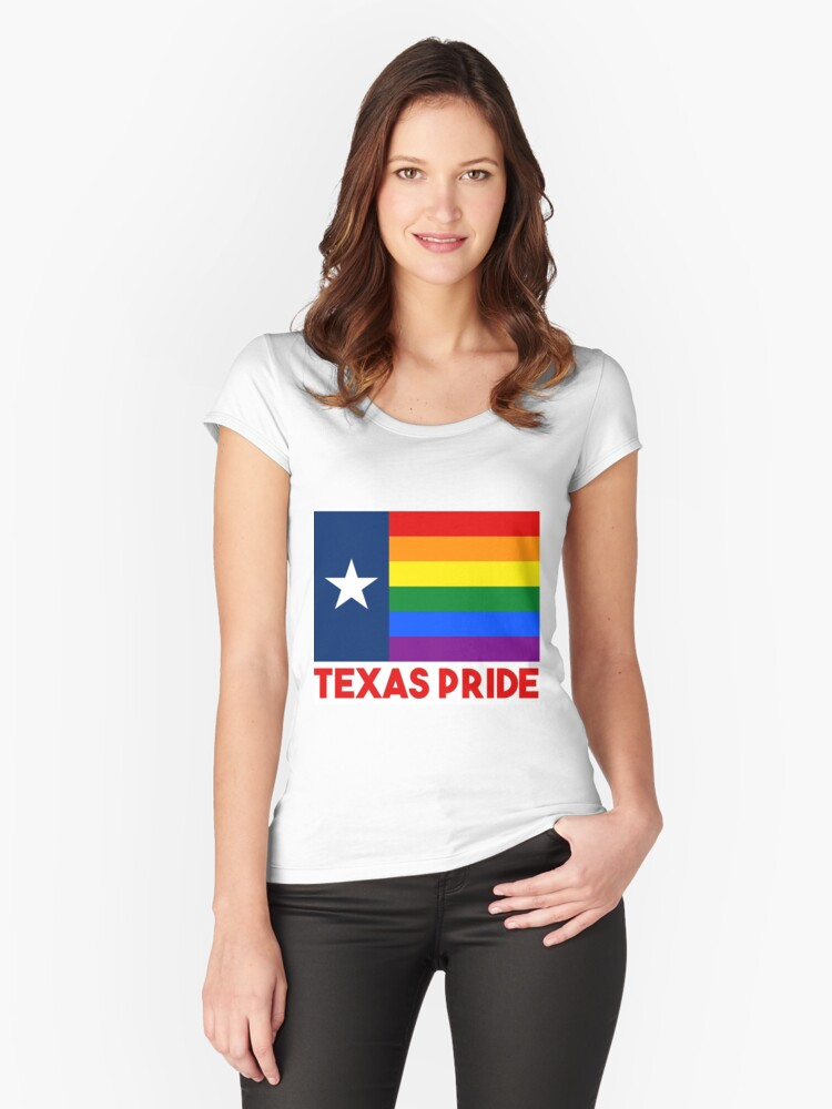 Texas LGBT Gay Pride Rainbow Flag