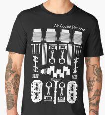 Air Cooled Flat Four (White) Men's Premium T-Shirt