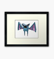 Your favourite cave pest. Framed Print
