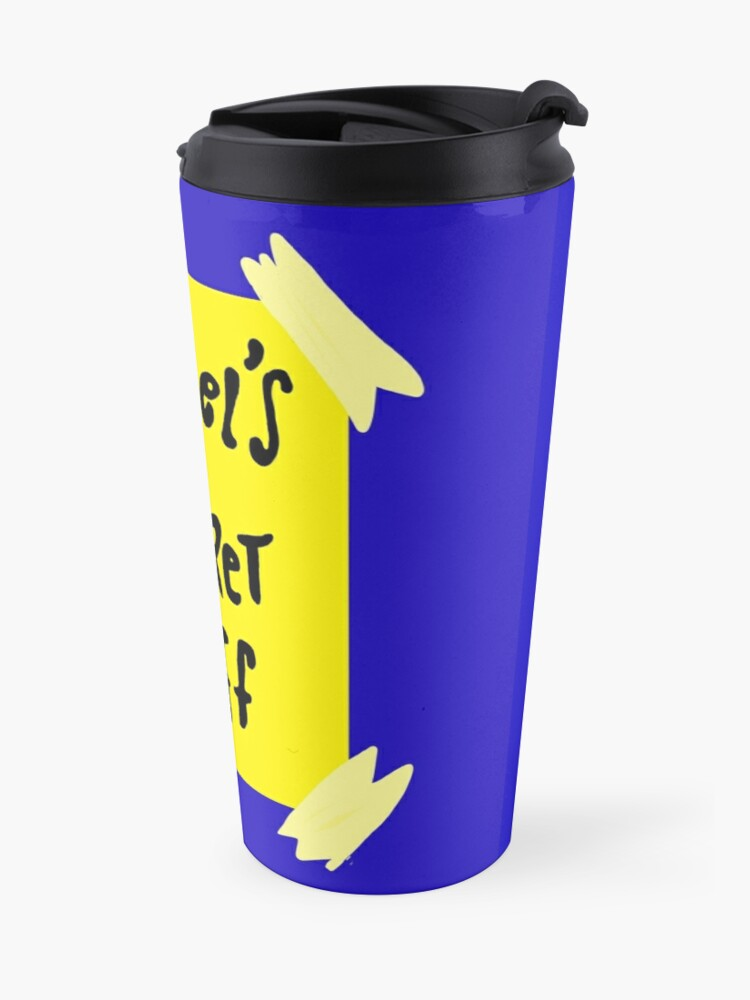 Alternate view of Michael's Secret Stuff - Space Jam Bottle  Travel Mug